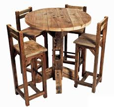 bar stool pub table and chairs set round bar table bar style in measurements 970 x