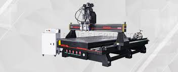 4 axis cnc router. 1530 pneumatic system double spindles 4 axis cnc router e