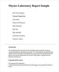 Example Of A Lab Report 10 Lab Reports Docs Pages Word Pdf