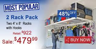 saferacks 4 x 8 2 rack pack special