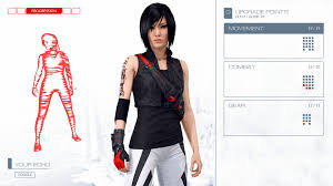 mirror edge. if you decide you\u0027re over the default red option for your echo, head to progression screen and look at bottom left. words \ mirror edge