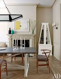 contemporary dining table decor. Contemporary Dining Room By Christine Markatos Design And Leroy Street Studio In New York, Table Decor T