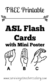 Choose spelling only, spelling with ipa (international phonetic alphabet notation), or. Free Printable Asl Alphabet Sign Language Flash Cards
