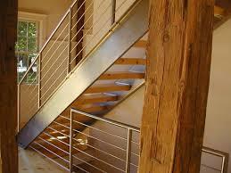 beautiful custom interior stairways. Boston Custom Stainless Steel Stair Stringers And Railings, Beautiful Interior Stairways A