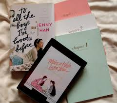 These are ones she's written. To All The Boys I Ve Loved Before Inspired Baking Fangirl Fury