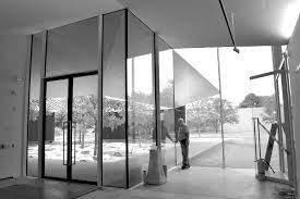 menil drawing institute houston texas installed owner supplied oversized glass