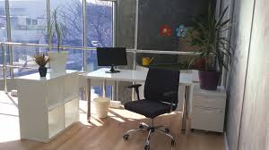 shared office space design. bright spacious shared office space design