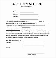 Sample Eviction Notice For Nonpayment Of Rent Philippines Download
