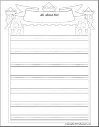 all about me theme unit writing paper writing prompt primary  all about me theme unit writing paper writing prompt primary handwriting three