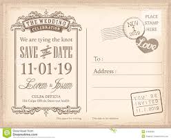 save the date template free download vintage postcard save the date background for wedding invitation