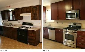 back to stylish small kitchen remodel before and after