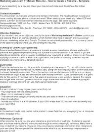 Professor Resume Template Professor Resumes Sample Lecturer Resume