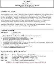 Administrator Resume Examples Administrator Cv Sample Under Fontanacountryinn Com
