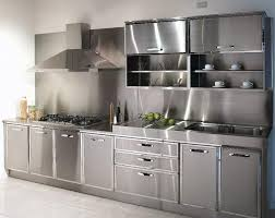 furniture for kitchens. one of the latest trends in kitchen decor replaces standard wood furniture is a stylish modern cabinets stainless steel for kitchens