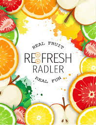 Calories In Bud Light Radler Re Fresh Radler Real Fruit Real Fun Campaign Book By