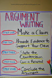 literacy math ideas argument writing for my class  literacy math ideas argument writing