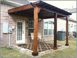 wood patio cover kits covered patio