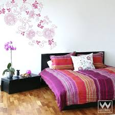 penguin wall decal paisley wall decals graphic rose modern flower vinyl wall decals for girls room