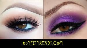 cool eye makeup for brown eyes