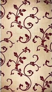 gold vine burgundy wallpaper