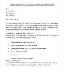 40 Termination Letter Templates DOC Free Premium Templates Gorgeous Employee Termination Letter Template Free