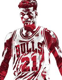 jimmy butler poster. Simple Poster Jimmy Butler Poster Featuring The Mixed Media Chicago Bulls  Pixel Art 2 By Joe With U