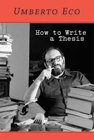 How To Write A Dissertations How To Write A Thesis The Mit Press