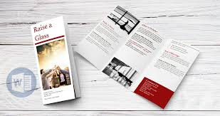 make tri fold brochure how to create a trifold brochure in word online