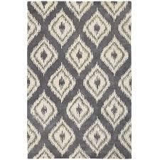 awesome ikat rug for interior floor design ikat diamond rug gray finish for modern living