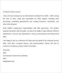 Recommendation Letter For Nurses Reference Letter Pinterest