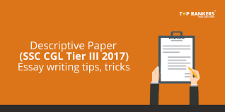 ssc cgl tier descriptive paper essay writing tips and tricks