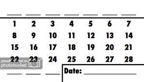Grey Matters Mental Gym Quick Calendar Month Creation