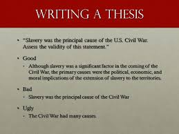 Essay On The Civil War Slavery Cause For Civil War Essay