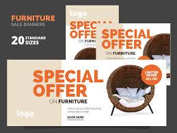 furniture sale banner. Cover Furniture Sale Banner F