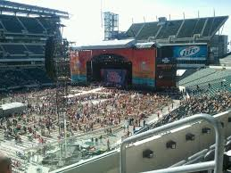 Lincoln Financial Field Seating Chart Kenny Chesney Lincoln Financial Field Section C16 Concert Seating