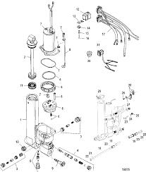 Accessories trim tilt lift systems and ponents power trim and tilt kit 822344a6