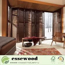good quality pvc or wood bi fold plantation indoor or outdoor shutter window