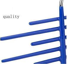 High Quality Coat Rack Tie rack 100frame Dip Non slip Metal necktie Storage rack high 30