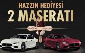 Magnum Maserati çekilişi ne zaman yapılacak? Çekiliş sonucu ne zaman  açıklanır?