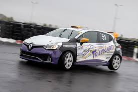 Don't get high, drive the Renault Clio RS Cup race car instead