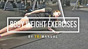 body weight 10 body weight exercises to build triathlon strength and ility trimanual