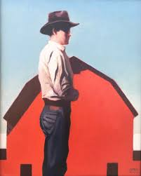 "Gary Ernest Smith | ""Man With Red Barn"" (2019) 