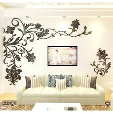 wall decorations for living room beautiful wall mural stickers acrylic home decor living room wall design