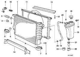 similiar radaitor 2002 bmw 325i keywords 2003 bmw 325i radiator parts diagrams on 2004 bmw 525i engine diagram