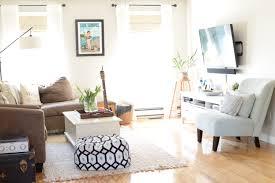 New England Living Room Interior Styling