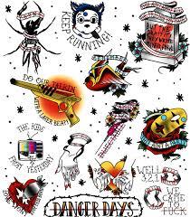 Manda On Twitter Full Tattoo Flash For Each My Chemical Romance