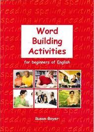 Activities Word Word Building Activities For Beginners Of English