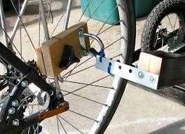 bike trailer attachment arm off 62