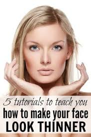 5 make up tutorials to teach you how to make your face look thinner