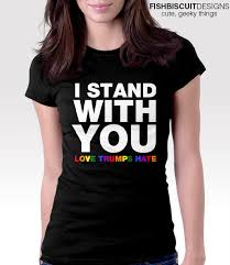 I Stand With You T Shirt Shirts Stand By Me T Shirt